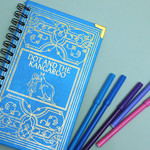 Dot and the Kangaroo notebook - Notebook made from an upcycled book