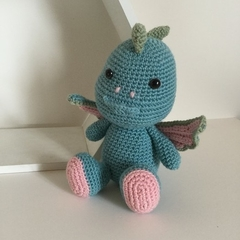 Dragon - crocheted softie