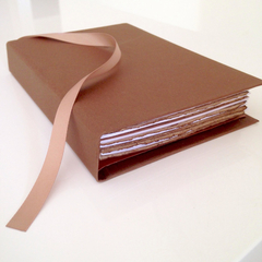 Handmade Coffee Paper Notebook