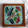 Flowering Gum Mosaic Coaster