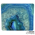 Blue Agate Mouse Pad - Blue Agate Slice mousepad - mouse mat