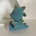 Dragon - crocheted softie