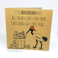 Bin Chicken (Ibis) Christmas Cards - Set of 3 (Free Post to Aus)