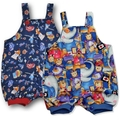SIZE 1  Boys Cotton Overalls - FREE POST