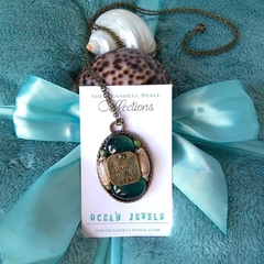 "Dreaming of the Sea Olive Shell Necklace - ""Ocean Jewels"" Collection"