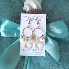 "Shell Earrings - ""Shell Jewels"" Collection"