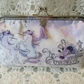 Christmas Party Clutch - Unicorns and Sleighs