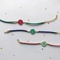 Initial Bracelet, Personalised Letter Bracelet, Leather Bracelet