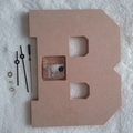 Decorate Your Own Letter Clock Kits