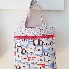 Christmas Bear Bag
