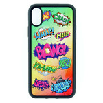 Comic Speech Bubbles Phone Case - TPU Case - for iPhone & Samsung Galaxy phones