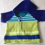 Size 2 Boys Beach Towel Shirt/Pool Cover up