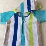 Size 2 Boys Beach Towel Shirt/Pool Cover-up