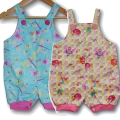 BABY GIRLS Cotton Overalls - FREE POST