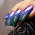 "Nail polish - ""Shallow Depths"" green / blue / purple  multichrome polish"
