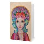 Boho Goddess Greeting Card