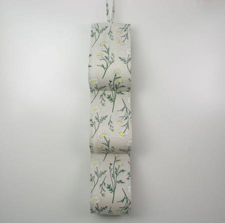 Daisy Toilet Roll Holder, Paper Holder / Storage for Bathroom, Caravan -