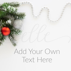 Christmas Stock Photo for Social Media Promotions