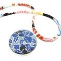 Kimono Necklace/Pendant -  Florals