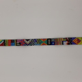 Rainbow Pattern Beaded Bracelet Bright Colour Pattern Funky