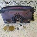 Coin Purse - Jewellery Pouch - Dark Princess, Blk Tassel & Believe Charm