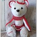 Memory Bear, Keepsake Bear, Unique Gift, Teddy Bear, Memorial Gift, Custom Made