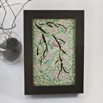 Blossom in Pink Mosaic easel  back picture