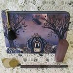 Cosmetic/Jewellery Pouch - Sml Clutch - Dark Princess