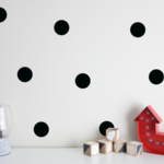 Large 8.5cm Dot Wall Vinyl Decals -  wall stickers