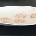 23.5cm Sea Urchin Plate - Pink