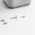 Sparrow Studs in Sterling Silver