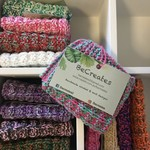 Eco-friendly - Knitted dishcloth, no more single use plastics