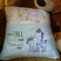 """Raffi  the Giraffe"" Reading/Pocket Cushion (cover only)"