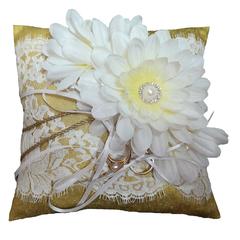 Ring Cushion  -  Fleur d'or