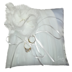 Ring Cushion  -  Blanc Classique