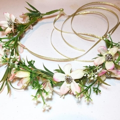 Flower crown with  baby's breath