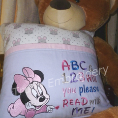 """""""Bedtime Mouse"""" Reading/Pocket Cushion (cover only)"""