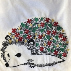 Size 10 Christmas Hedgehog T-Shirt