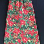 A-Line Christmas Cotton Print Skirts