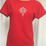 Ladies Boat Neck Dolman Sleeve T-Shirt