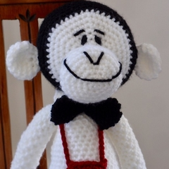 Murray the hand crocheted Monkey - unisex, washable, OOAK by CuddleCorner