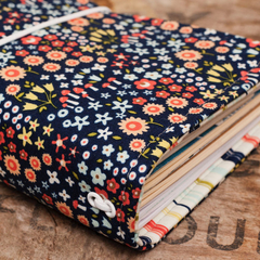 Notebook Cover - spring garden