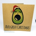 3x Funny Christmas Cards (puns / bin chickens / llama /cactus) FREE AUS SHIPPING