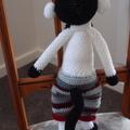 Murray the hand crocheted Monkey - unisex, washable, OOAK by CuddleCorner