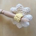 Cotton Reusable Makeup Pads in a Daisy design