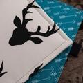 Notebook Cover- snow deer