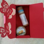 VEGAN Giftset - Peppermint Lip Balm + Coco L'Orange Travel Deo l Zero Waste