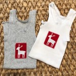Christmas Reindeer singlets
