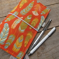 Notebook - sunset feathers