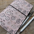 Notebook Cover - bicycle rides